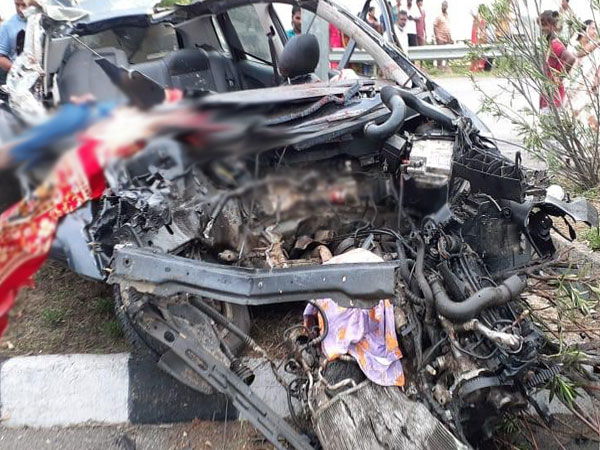 Visual from accident site.