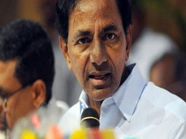 File pic of Telangana Chief Minister K Chandrashekhar Rao