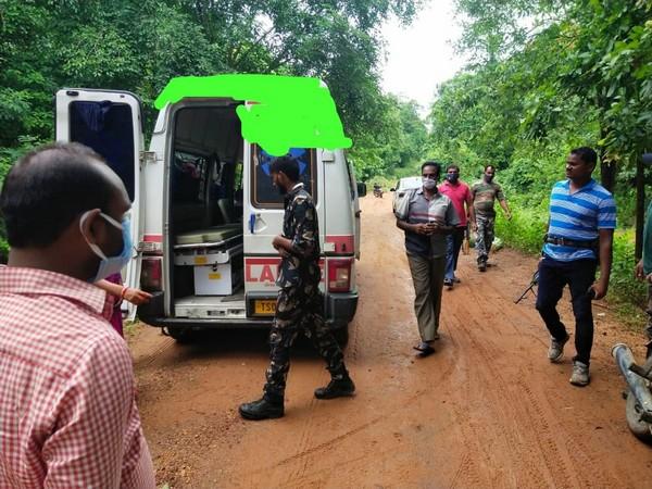 Exchange of fire between Maoist and Police Telangana. Photo/ANI