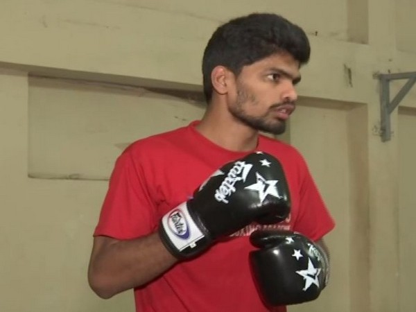 Indian kickboxer Venkat Ramana
