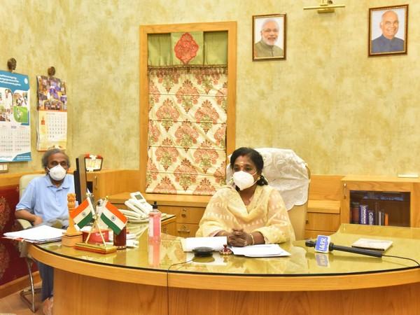 Telangana Governor Dr. Tamilisai Soundararajan.