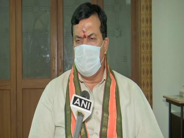 Tamil Nadu BJP national co-incharge Ponguleti Sudhakar Reddy. (Photo/ANI)