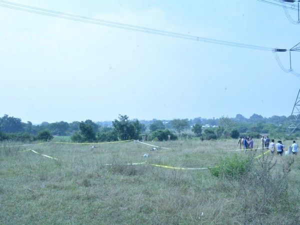 Visual from the site of encounter in Telangana (Picture Courtesy - Telangana Police)