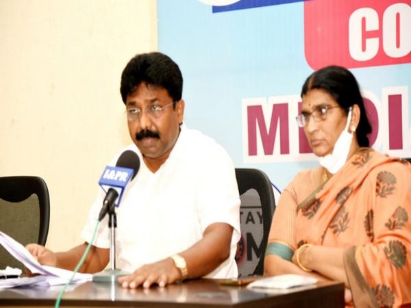 Andhra Pradesh State Education Minister Adimulapu Suresh. (Photo/ wind draw)