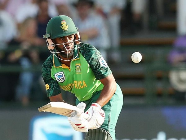 South Africa's batsman Temba Bavuma