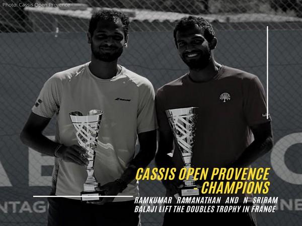 Ramkumar and Sriram Balaji (Photo/AITA twitter)