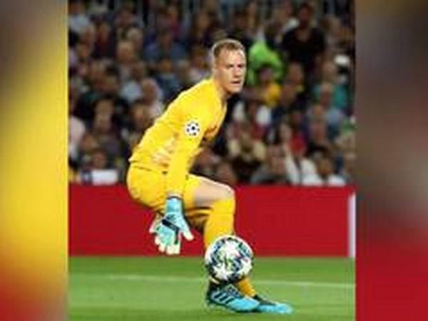 Barcelona goalkeeper Marc-Andre ter Stegen