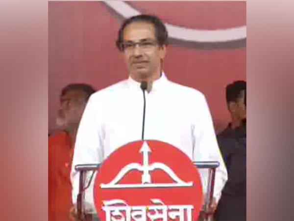 Shiv Sena chief Uddhav Thackeray. (File photo/ANI)