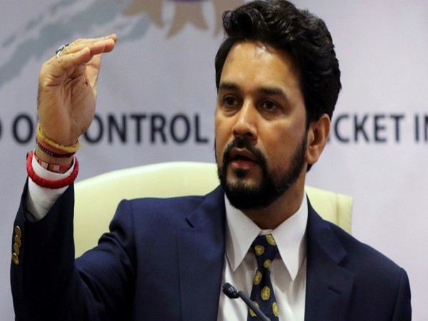 Minister of State for Finance and Corporate Affairs Anurag Thakur. File photo/ANI