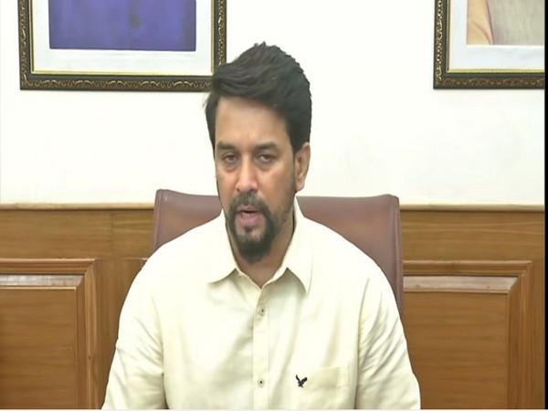 Sports Minister Anurag Thakur (file image)