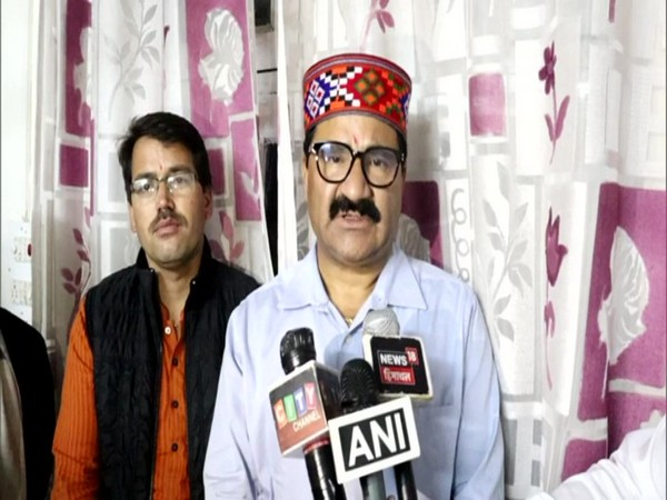 Himachal Pradesh Transport Minister Govind Singh Thakur while speaking to media persons in Kullu on Thursday. Photo/ANI
