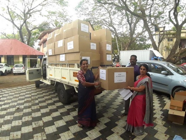 The last batch of 1000 PPE kits ordered from Congress leader Shashi Tharoor's MPLADS funds to Thiruvananthapuram on April 20