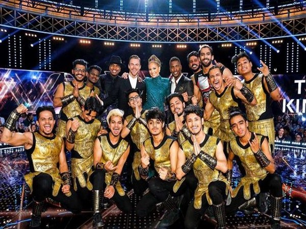A group picture of The Kings from the sets of 'World of Dance'