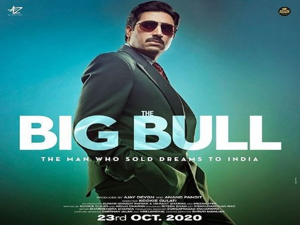 The new poster of the upcoming Abhishek Bachchan starrer movie 'The Big Bull' (Image courtesy: Instagram)