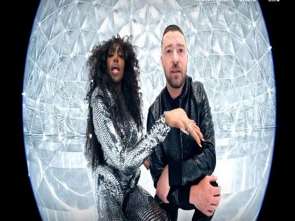 A still from the official music video of 'The Other Side' featuring singers Justin Timberlake and  SZA (Image courtesy: YouTube)