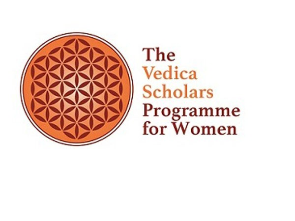The Vedica Scholars Programme for Women Logo