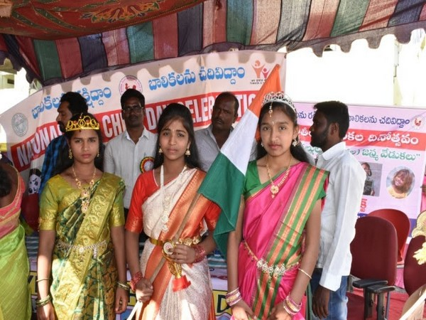 A awareness campaigns hosted by BBG Bangaru Talli Charitable Trust here on Wednesday.