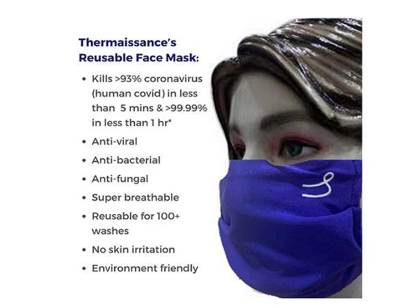 Thermaissance's Reusable Face Mask