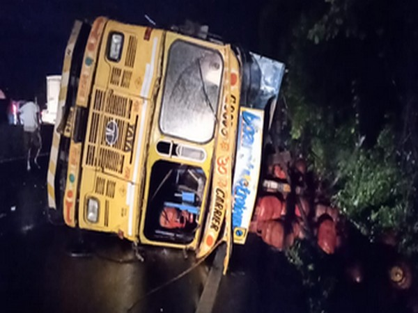 Visual from the incident site in Thane