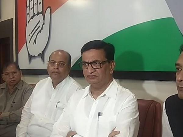 Congress Maharashtra chief Balasaheb Thorat speaking to media persons on Thursday. Photo/ANI