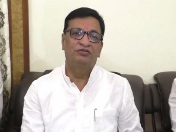 Maharashtra Revenue Minister Balasaheb Thorat addressing a press conference in Nashik, Maharashtra, on Saturday. (Photo/ANI)