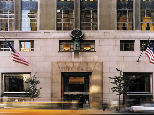 Tiffany operates more than 320 stores in over 25 countries