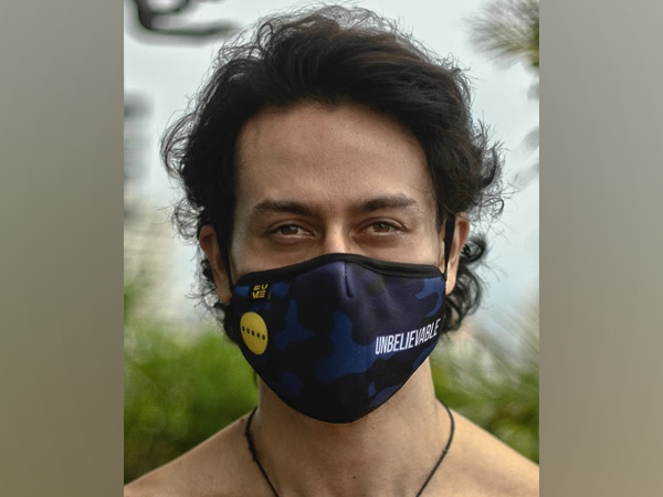 Actor Tiger Shroff Flaunting His 'Unbelievable' EUME Mask