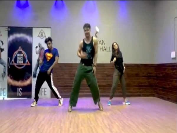 A still from the video shared by actor Tiger Shroff (Image courtesy: Instagram)