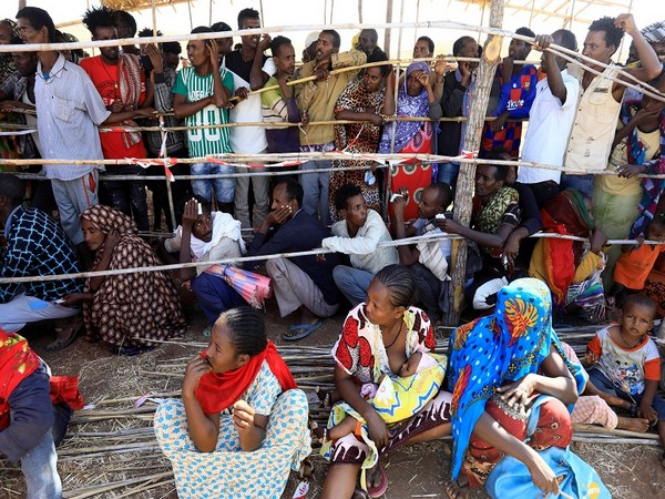 Internally displaced persons in Ethiopia's conflict-hit Tigray regional state. (Photo Credit - Reuters)