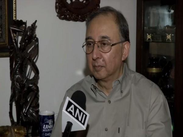 Former Special Secretary in Cabinet Secretariat, Tilak Devasher speaking to ANI.