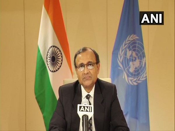India's Permanent Representative to the United Nations TS Tirumurti