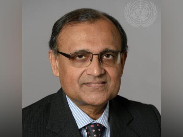 India's Permanent Representative to the United Nations, TS Tirumurti