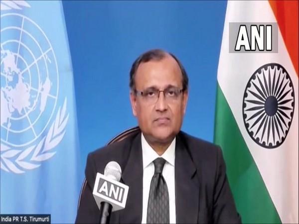 India's Permanent Representative to United Nations TS Tirumurti. (ANI)