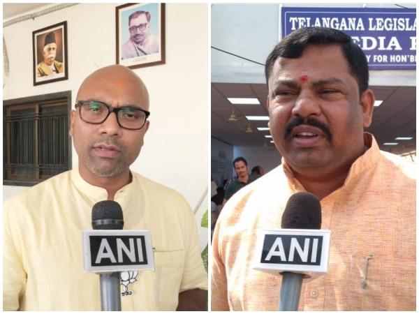 BJP MP Dharmapuri Arvind (left), Telangana BJP MLA Raja Singh (Right) [File Image]