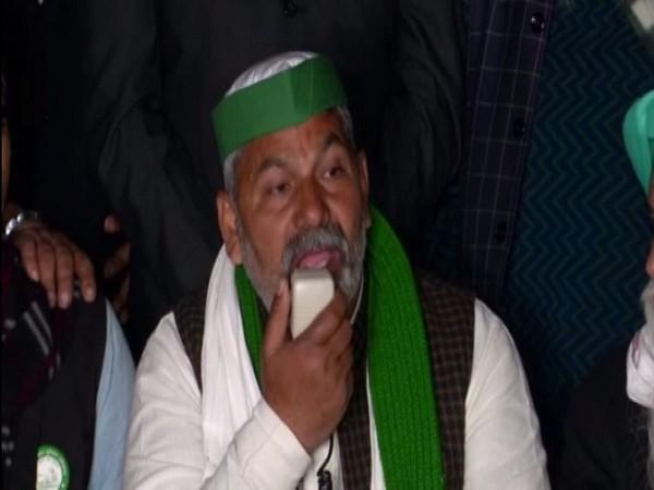 BKU Spokesperson Rakesh Tikait