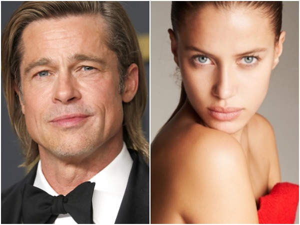 Brad Pitt, Nicole Poturalski (Image courtesy: Instagram)