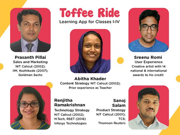 Toffee Ride team