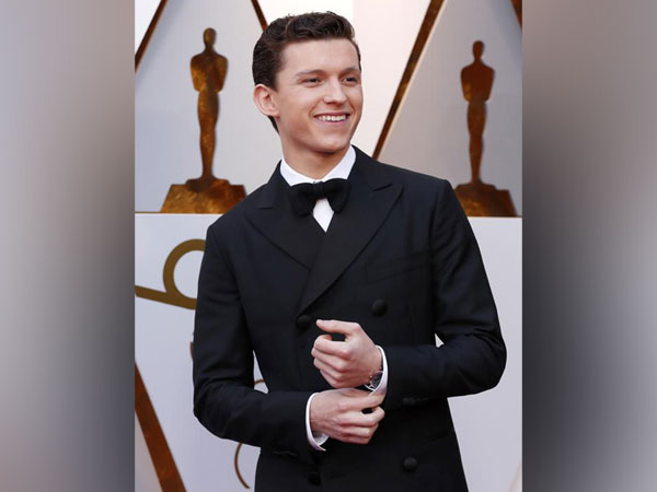 Tom Holland at the 90th Academy Awards