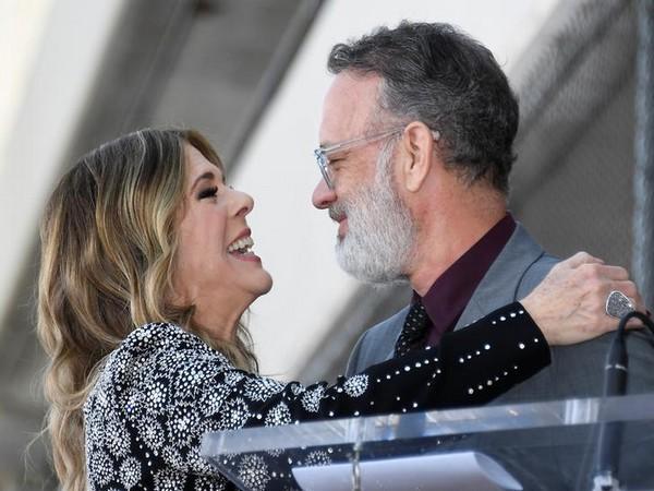 Hollywood veteran actors Tom Hanks and Rita Wilson