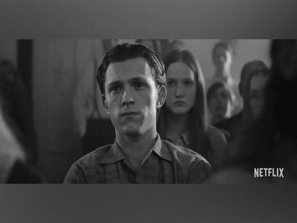 A still from the trailer of 'The Devil All the Time' featuring Tom Holland (Image source: YouTube)