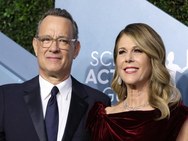 Actor Tom Hanks with wife Rita Wilson (File Photo)