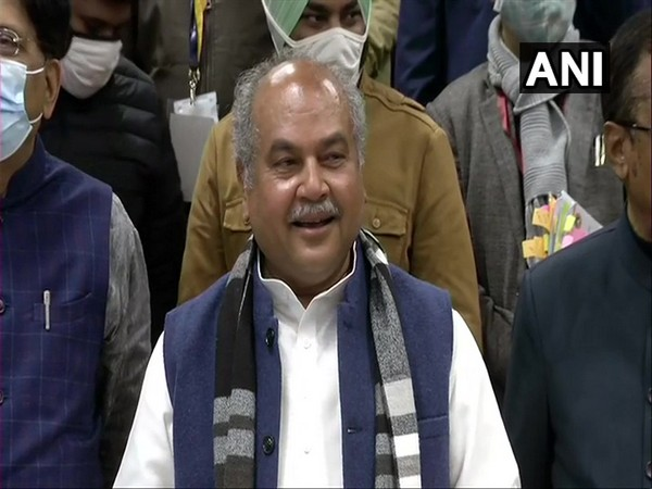 Union Agriculture Minister Narendra Singh Tomar. (Photo/ANI