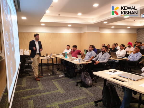 'Kewal Kishan trains Business Owners on G-Suite Business Automation'