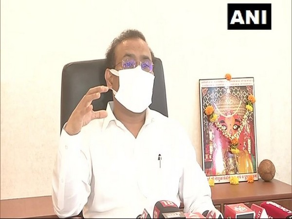 Maharashtra Health Minister Rajesh Tope speaking with media persons on Friday over the COVID-19 situation in the state.