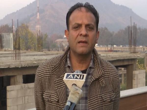 Nasir Shah, Chairman of Kashmir leisure and pilgrimage Tour operators speaking to ANI.