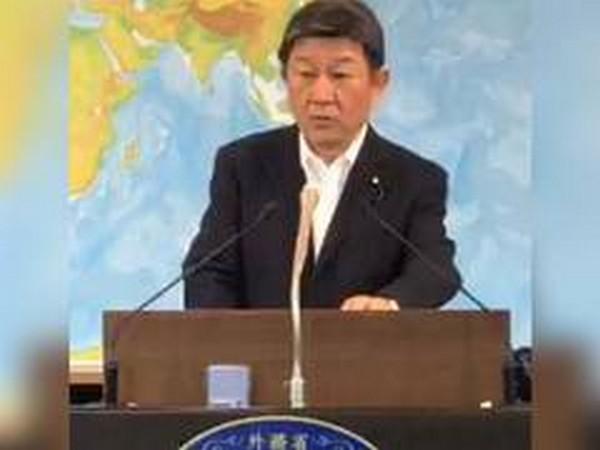 Japanese Foreign Minister Toshimitsu Motegi