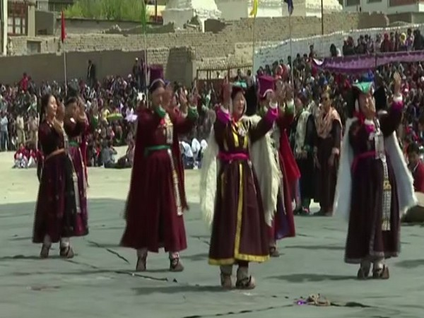 Independence Day celebration in Leh