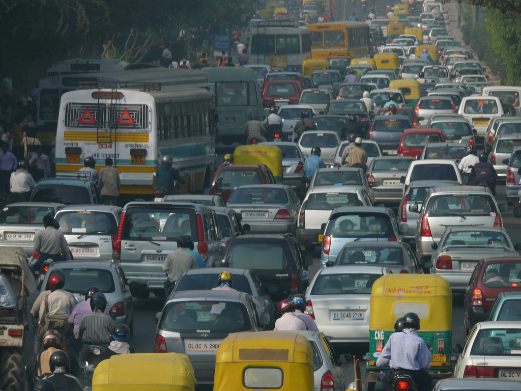 Construction and vehicle traffic contribute significantly to the Delhi National Capital Region's high concentrations of harmful air pollutants and gases.