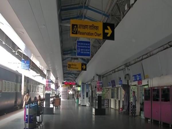 A view of Ranchi railway station. Photo/ANI