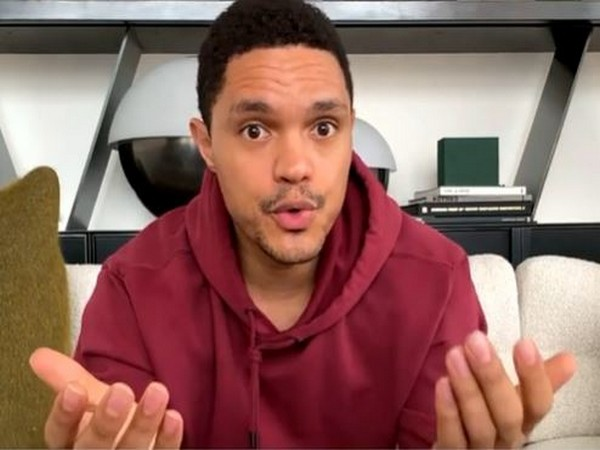 A still from Trevor Noah's The Daily Social Distancing Show (Image Source: YouTube)